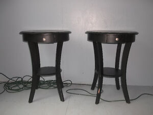 Night Tables with Drawer
