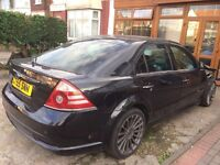 Ford Mondeo ST TDCi Panther Black breaking Rs wheels