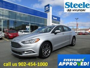 2017 Ford FUSION SE Sunroof Leather backup camera