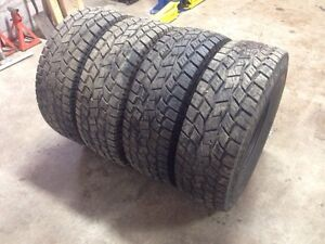 35x12.5-15 Toyo Open Country A/T tires