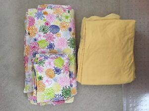IKEA duvet cover + pillow shams + matching sheet set