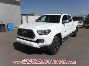 2016 TOYOTA TACOMA LIMITED DOUBLE CAB 4X4 LIMITED
