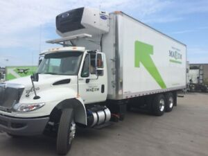 2019 International 4400 SBA 6X4, Used Reefer Van