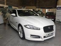 2013 13 Jaguar XF 2.2TD Sportbrake Auto Sport,Diamond White