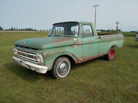 1962 ford unibody short box truck