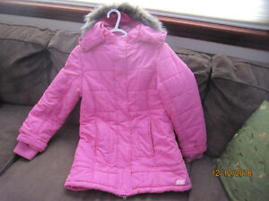 Brand New Pink GIRLS Winter Coat / Jacket Sz-L/G