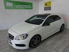 WHITE MERCEDES-BENZ A CLASS 2.1 A200 CDI AMG SPORT ***FROM £290 PER MONTH***