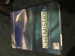 Durham College Pre-Health Science Biology and Chemisty text book