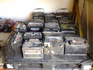 -WOW USED BATTERIES  WITH WARRANTY!!