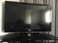 "42"" LG 3D CINEMA LED full H D TV with extras"