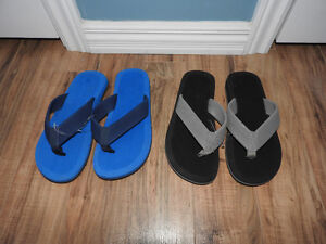 2 NEVER WORN pairs of men's sandals (BOTH for $10) - size 7