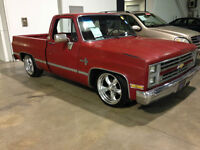 1986 Chevy Silverado short bed**Patina**