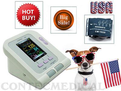 Contec08a Automatic Digital Veterinary Blood Pressure Monitorvet Cuffus Seller