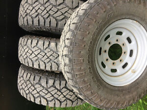 """16"""" Ford rims and tires"""