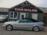 MERCEDES BENZ CLK320 AVANTGARDE (218 BHP) CONVERTIBLE PART EXCHANGE WELCOME