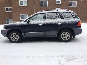**VENDU** Auto, 2004 Hyundai Santa Fe GLS VUS, 4X4 Saguenay Saguenay-Lac-Saint-Jean image 1