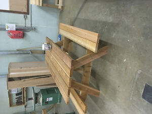 6 foot ceader picnic table