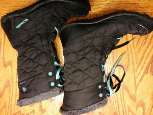 Columbia girls winter boots size 5