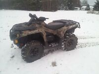 Can Am Outlander 650 Camo XT Power steering