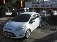 2010 FORD FIESTA TITANIUM 1.6TDCi ONLY 72,797 MILES, FULL SERVICE HISTORY