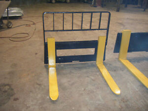New Heavy Duty Pallet Fork Attachment