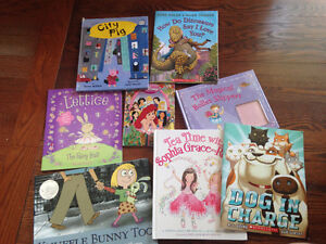 Summer Reading Lot of 7 books - Knffle Bunny Too