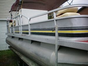 20' Pontoon Boat