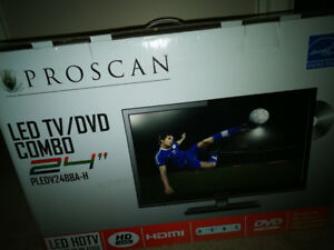 Proscan led tv/DVD combo 24 in