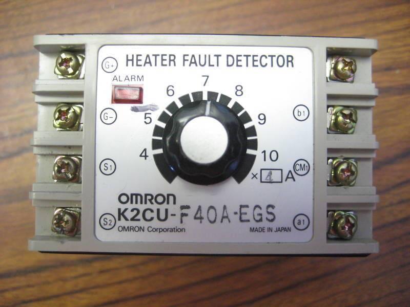 Omron K2CU-F40A-EGS Heater Fault Detector F-GS K2CUF40AEGS