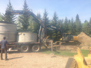 Water/Septic installs,Backhoe/Trackhoe services,Cistern cleaning Edmonton Edmonton Area image 8