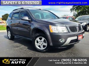 2007 Pontiac Torrent LS | SAFETY & E-TESTED