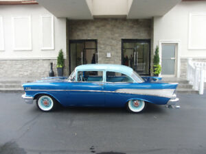 Beautiful 1957 Chevy Bel Air in Great Condition and Runs Like A