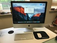 "Apple iMac 24"" Computer with upgraded SSD drive"