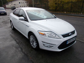 FORD MONDEO ZETEC BUISNESS TDCI DIESEL WHITE £30 A YEAR RFL - BAL AFTER 1000 MIN PX ALLOW 7995