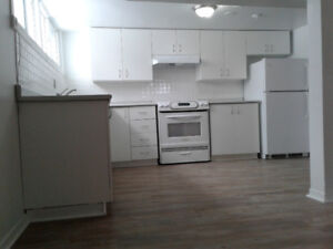 Newly Renovated 2 Bedroom Basement Apartment in Newmarket!