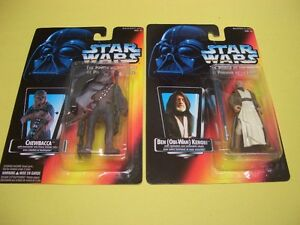 (12) STAR WARS POTF/EPISODE 1 FIGURES FROM 1995, 1996 AND 1999 London Ontario image 5