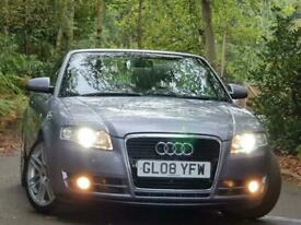 image for 2008 Audi A4 CABRIOLET 2.0 TFSI S line Special Edition Cabriolet Multitronic 2dr