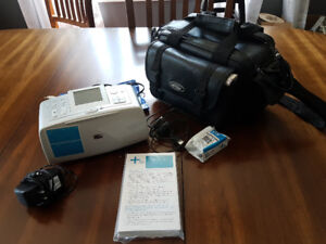 HP Photo Printer with case