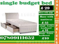 Single and DoubleBudget Base Mattess/ Bedding