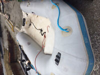 12' inflatable RIB excellent condition!