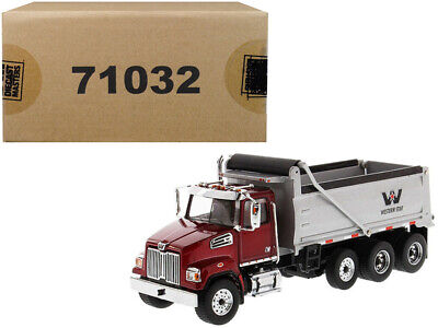 Western Star 4700 SF Dump Truck 1:50 Scale Model - Diecast Masters - 71032*