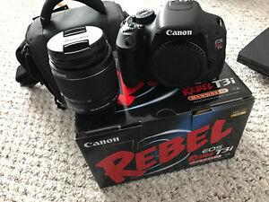 Brand new Canon Rebel T3i + Case