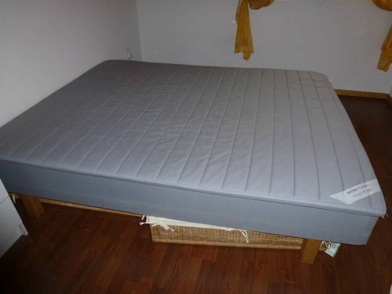 Ikea Sultan Storfors King Size Bed Base