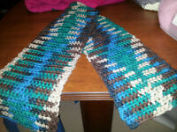Hand made, One of a kind, scarf