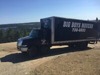 bigboysmovers.ca ..YOUR PROFESSIONAL MOVERS!!...738-6653