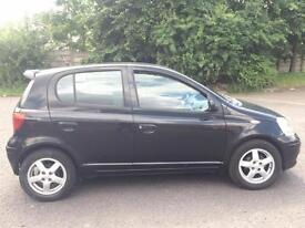 TOYOTA YARIS 1.0 PETROL COLOUR COLLECTION BLACK 5 DOOR,HPI CLEAR,1 OWNER,ALLOYS