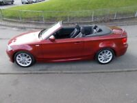 BMW 1 SERIES 2.0 118d M SPORT (red) 2011