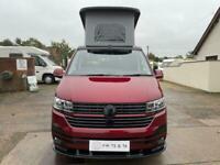 Volkswagen T6.1 Campervan Highline - Revolution Ricos - FORTANA Red - Campervan