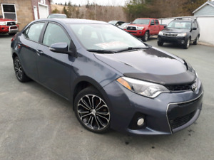 """2014 Toyota Corolla S """" LEATHER AND SUNROOF"""" **SOLD**"""