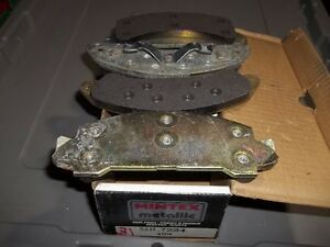 1986 - 1987 Ford Brakes front set -NEW- Ranger,Bronco, Aerostar